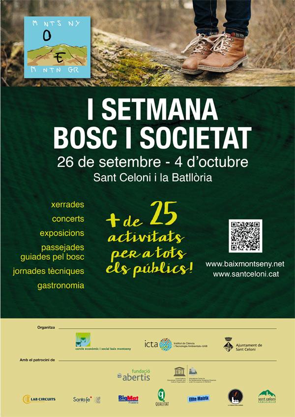 Setmana bosc i societat. Sector forestal, Sant Celoni, Baix Montseny, Montnegre