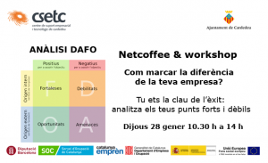 Netcoffee-and-workshop-2016-01-Com-marcar-la-diferència-de-la-teva-empresa E Bach